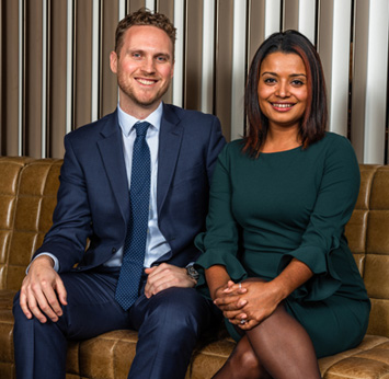 Our Membership team - Rina & David